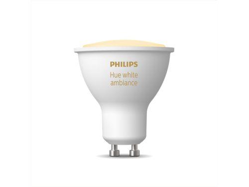 Hue White Ambiance Single bulb GU10