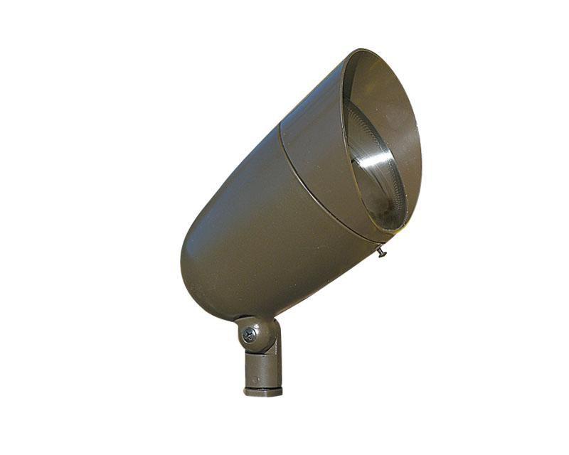 Accent, Aluminum Bullyte w/ Shroud, Bronze, 13W LED, 2700K, 120V