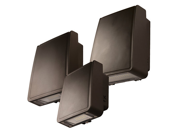 Low Profile Wall, LED, 50W, 4000K, 70 CRI, 120-277V, Bronze
