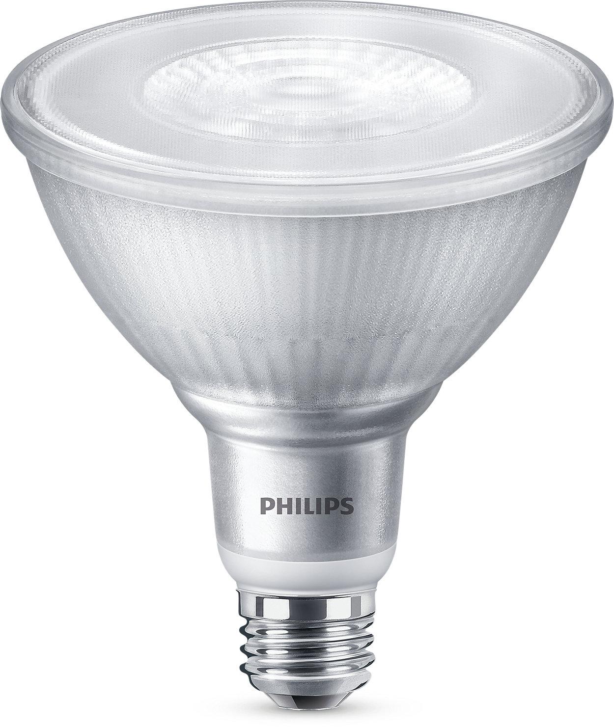 Éclairage à DEL à intensité variable à faisceau lumineux concentré