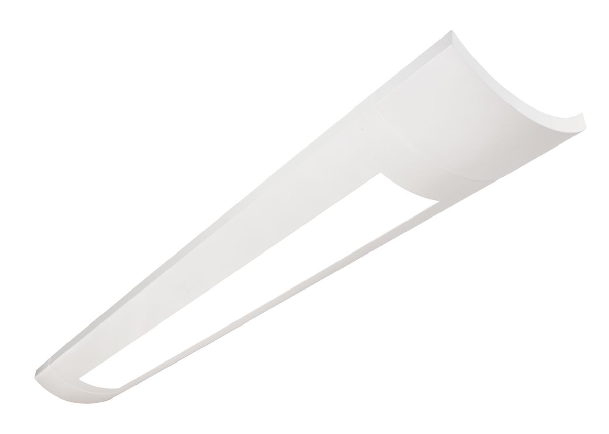 Sona 1LC Up suspended LED, 3100 lm/4ft, 3000/3500/4000K Indirect/Direct, Acrylic Diffusers - 70% Up