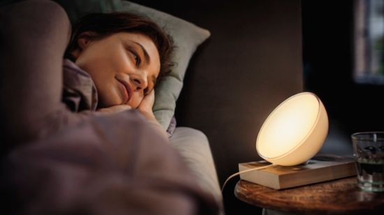 Luces inteligentes para despertar o para ayudarte a dormir