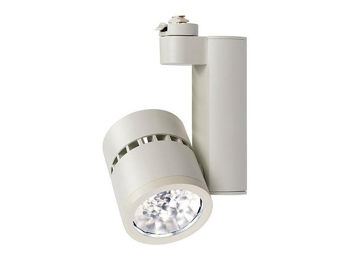 Alcyon LED Vertical 2000lm Cylinder (LLAV20), Track  Lighting, 2700K, White