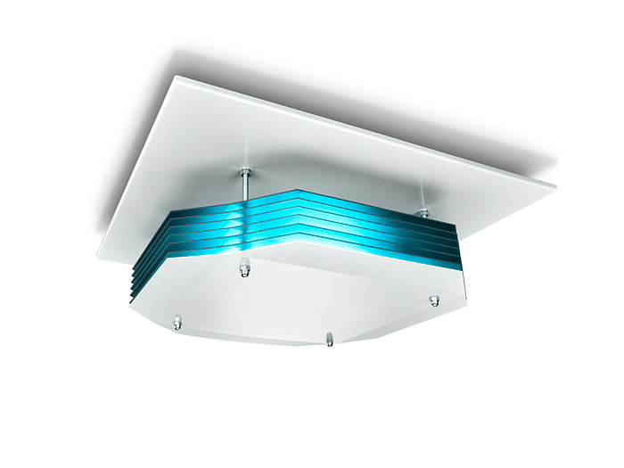 UV-C disinfection upper air Ceiling mounted version
