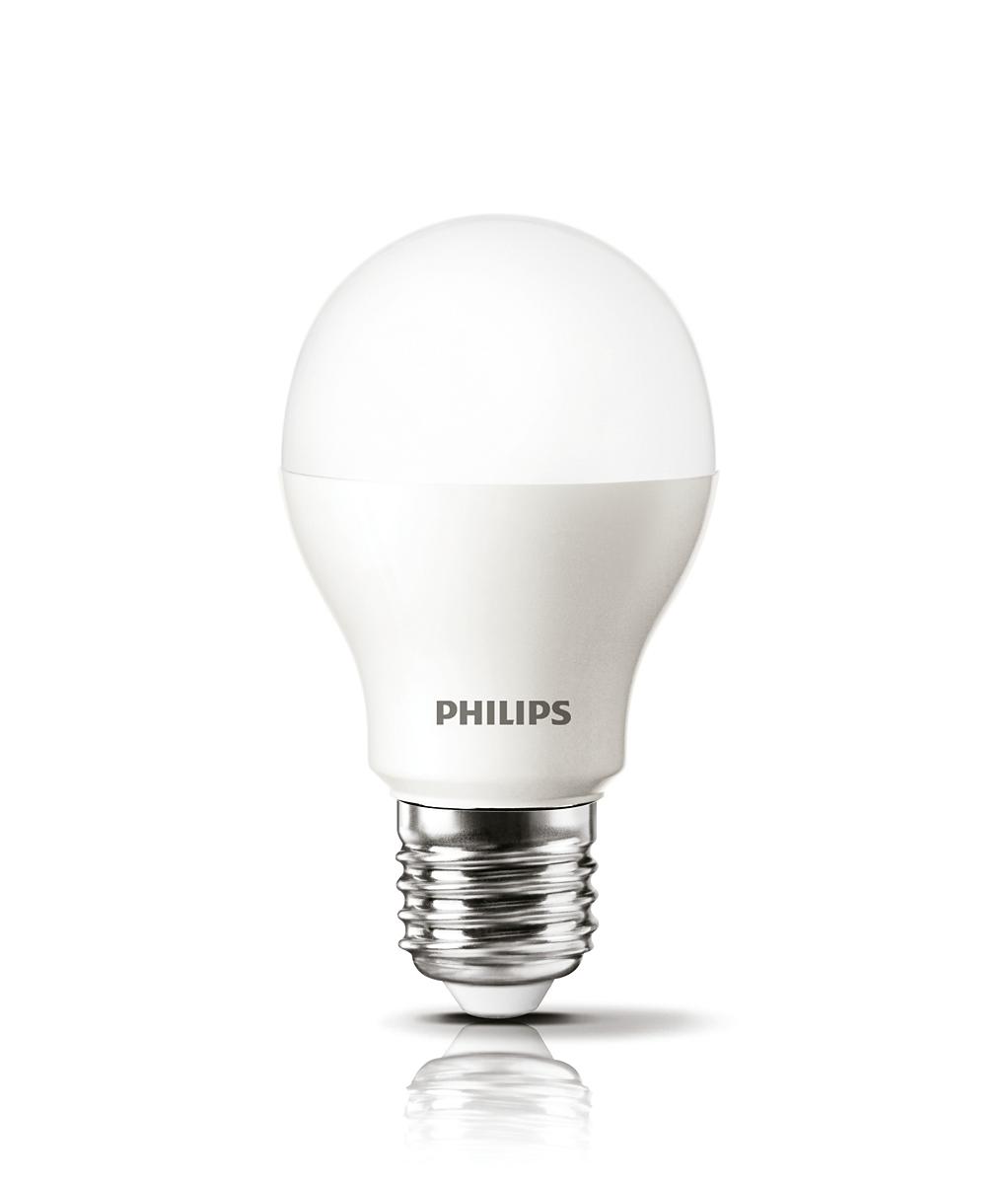 8 x Philips 6.5W 40W B22 BC Bayonet Cap LED Lamps Bulbs 2700K Warm White