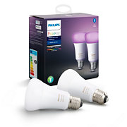 Hue White and colour ambience 2-pack E27