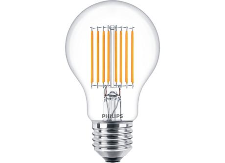 LED A60 2-40W E27 CL ND 830