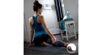 Svetlobni učinki za sprostitev, branje, koncentracijo in nabiranje novih moči