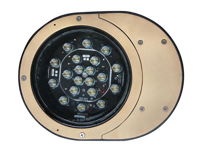 Inground, Composite, 18W LED, 3000K, 120V
