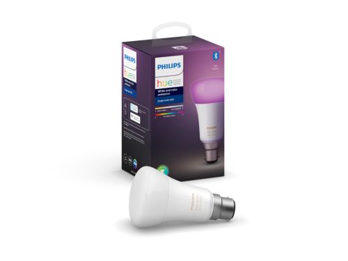 Hue White and color ambiance 1-pack B22