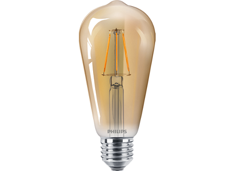 LED classic 40W ST64 120V E27 GOLD D 1BC