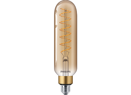 LED classic-giant 40W E27 T65 GOLD DIM