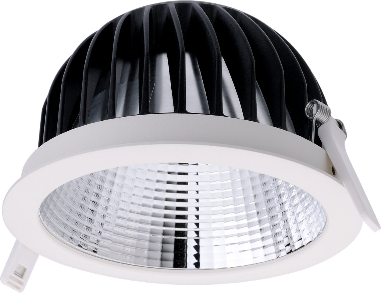 Miniaturized downlight with leading optical performance and great diversity