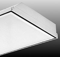 1x4, 3 Lamp F32T8, Air Handling, Prismatic Acrylic Lens