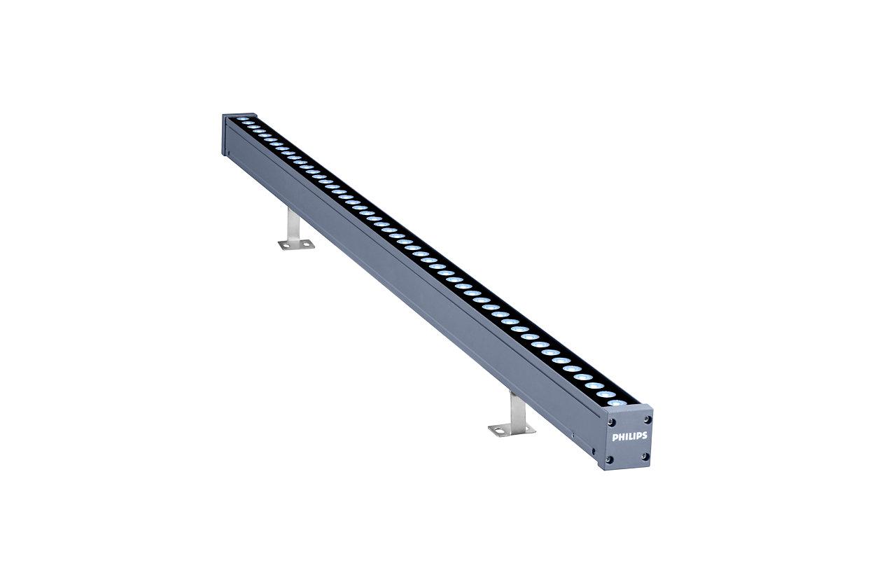 UniStrip G4 - Bộ đèn LED tuyến tính lắp nổi chất lượng tốt nhất trong phân khúc dùng cho các Ứng dụng chiếu sáng công trình kiến trúc ngoài trời cố định và sinh động