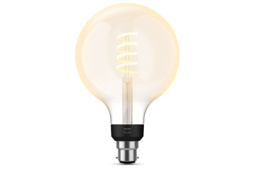 Filament Hue White Ambiance Pack de 1 G125 B22 Filament Globe