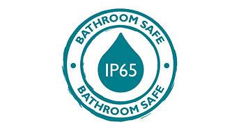 IP 65: A tökéletes megvilágítás zuhanyzáshoz
