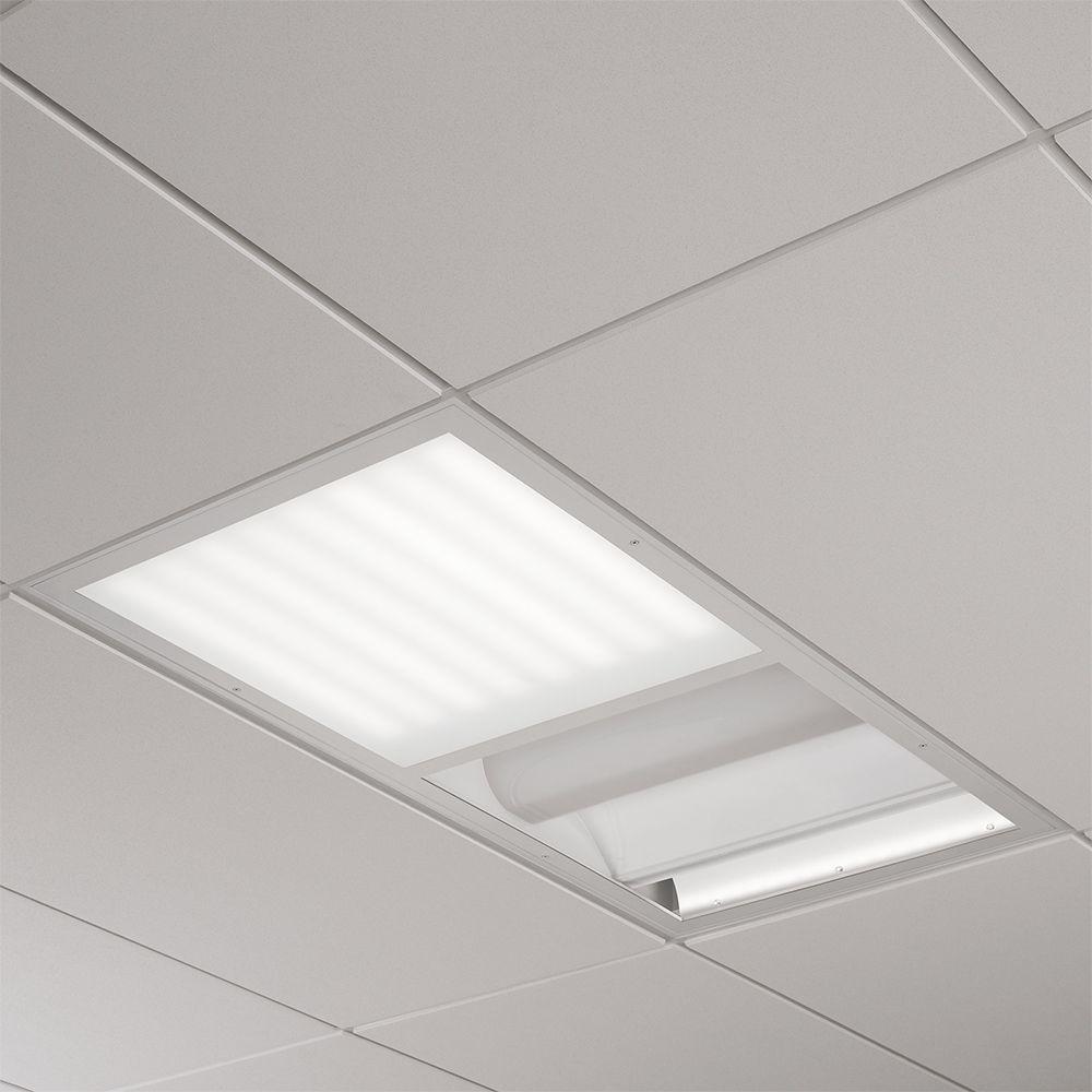 Multi-Med LED 2x4 Recessed Patient Room Luminaire