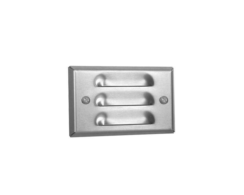 Step Light, Stainless Steel, Mini-Recessed Louver, 12W S-8 (93), 12V