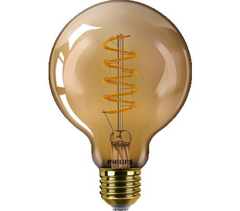 LED classic 5.5W G93 E27 GOLD SP D 1PF/6