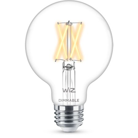 Filament clear G25 dimmable E26