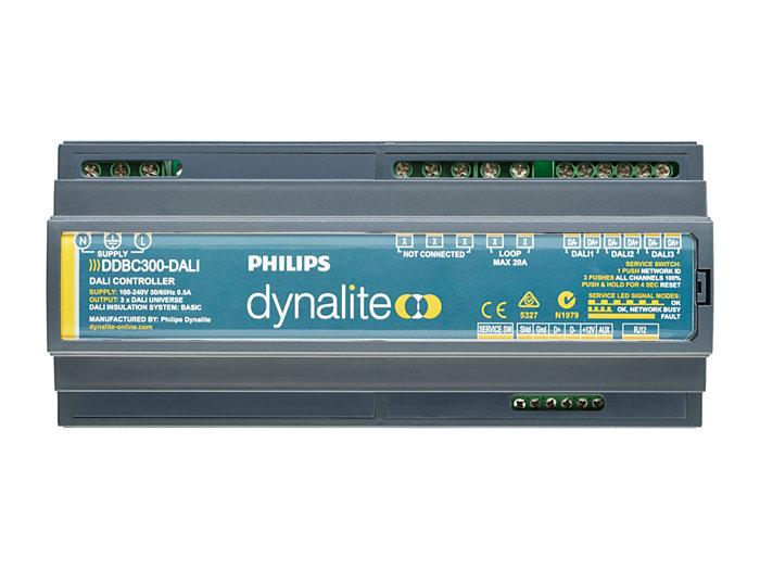 DDBC300-DALI 3 x DALI Driver Controller front