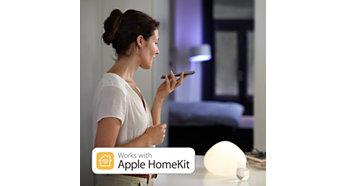 Συμβατό με την τεχνολογία του Apple HomeKit
