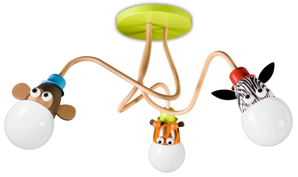 Kidsplace Ceiling Light 470505566 Philips