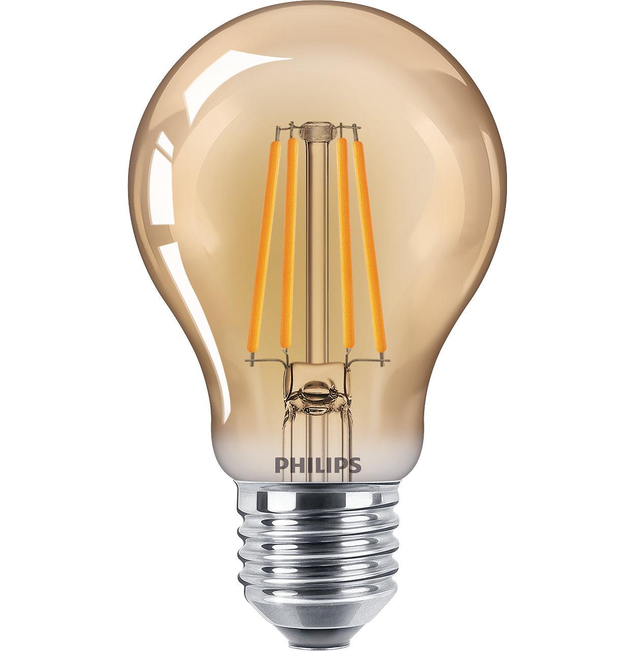 Classic LEDbulbs lamps for decorative lighting
