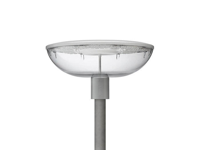 TownGuide Performer BDP101 pedestian luminaire with clear bowl