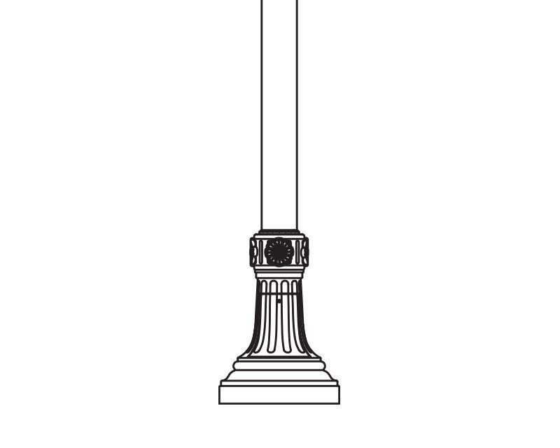 Anchor Base Post (786-)