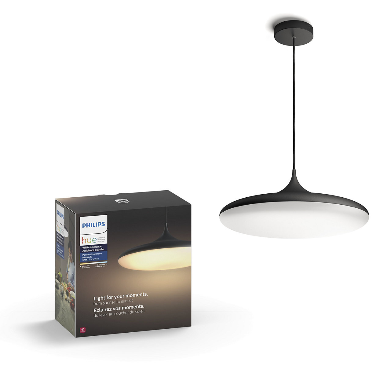 Hue White Ambiance Cher Suspension Light