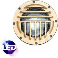 Inground, Composite, Flood, Bronze, 7W LED, 2700K, 120V