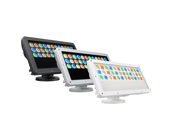 Blast IntelliHue Powercore gen4 surface-mounted LED fixture available in three different housing colors