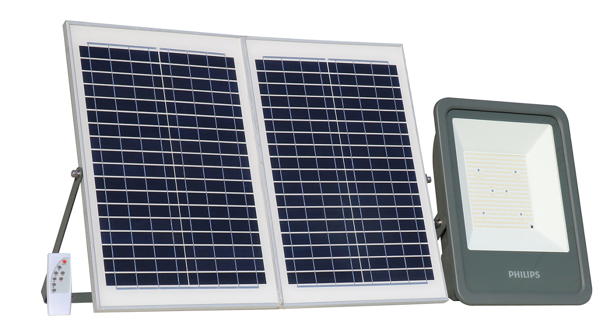 SmartBright Solar Flood Light