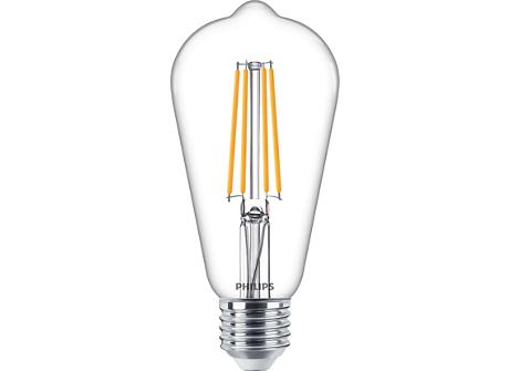 CLA LEDBulb D 7.2-60W ST64 E27 827 CL