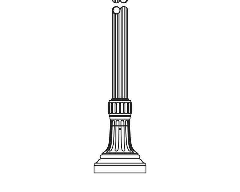 Anchor Base Post (794-)