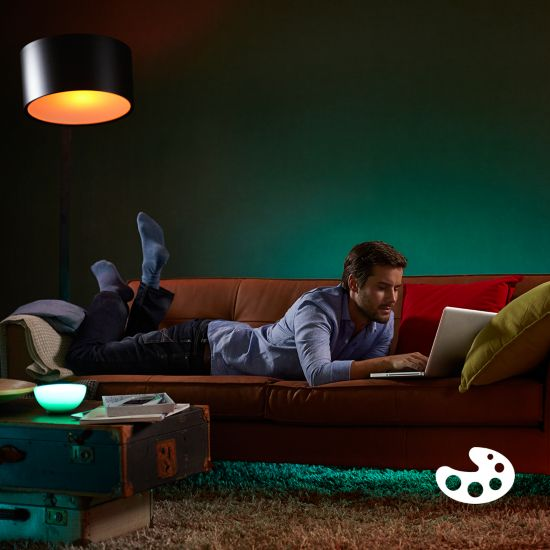 Play with light and choose from 16 million colours