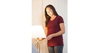 適合日常使用的簡便 LED