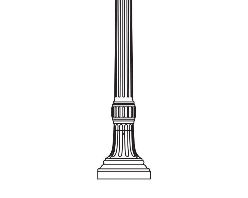 Anchor Base Post (791-)