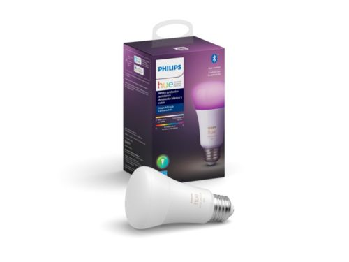 Hue White and color ambiance 1-pack E26
