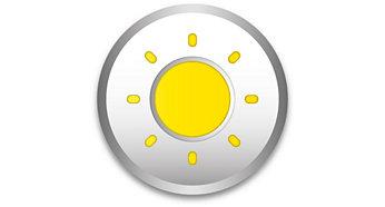 Maximum brightness to light up your workspace