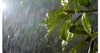 Resistente às condições climatéricas (IP65)