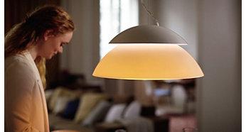 雙重光源加強燈光效果