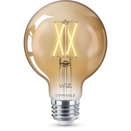 Filament amber G25 dimmable E26