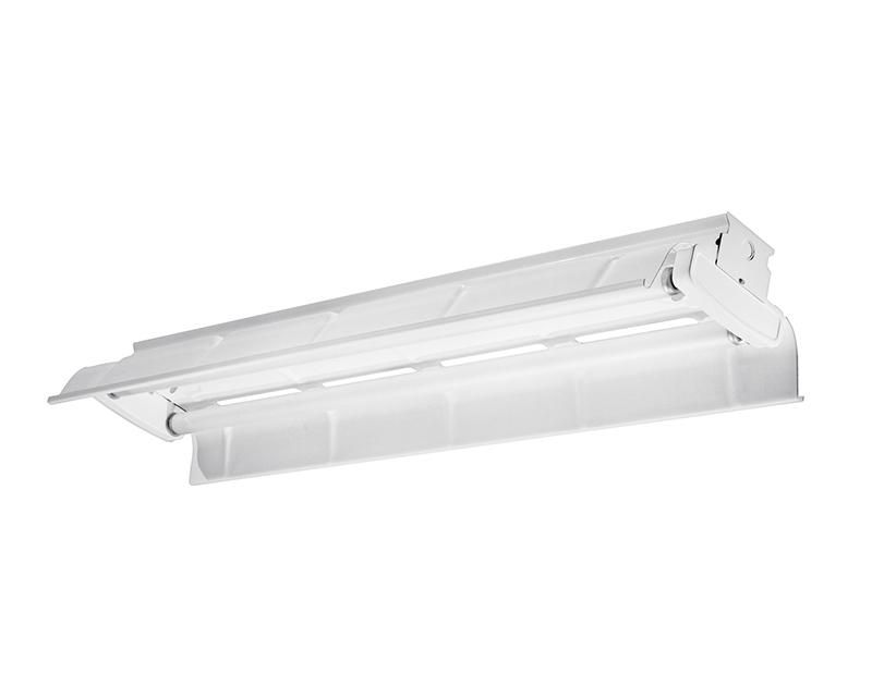 4', 2 Lamp F32T8, Painted Polyester Reflector, 10% Uplight