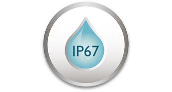 IP67 – защитена от атмосферни влияния