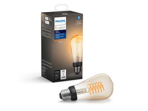 Ampoule blanche Hue à filament Paquet de 1ampoule Edison ST19 E26 à filament