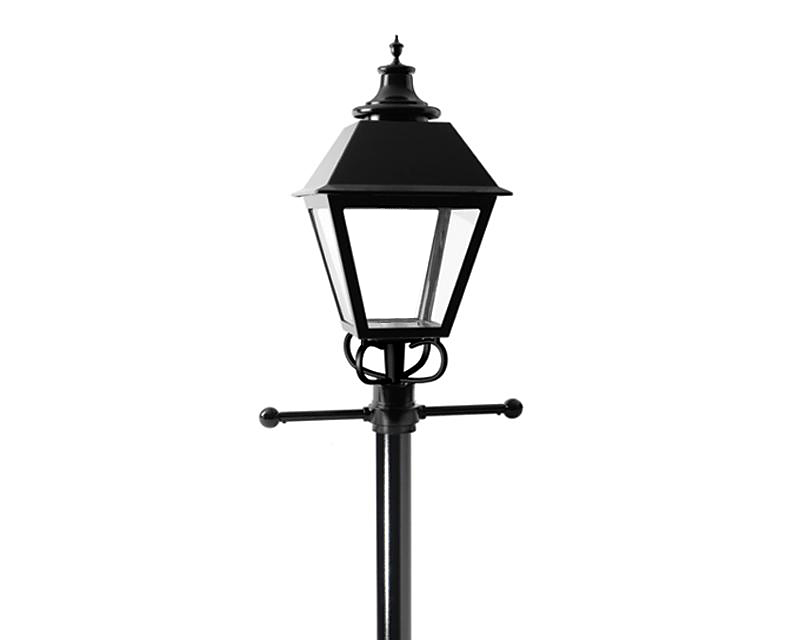 Square Lantern LED Post Top Comfort (S26A-C/S26N-C)