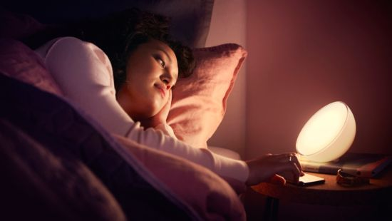 Smart lights to wake you up and help you sleep